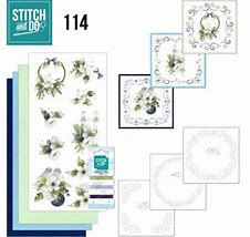 STDO114 - Stitch and Do 114 Blueberry Christmas