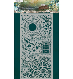 JMA-NA-MASK05 - JMA Mask Sun, window, branches, music New Awakening nr.05