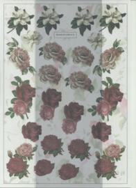 BOWOC 100-0005-KN mini bloemen metalic knipvel