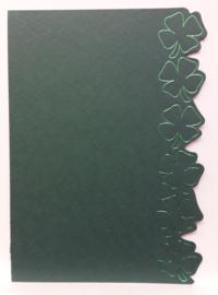 ROPP 100-6601-LPP Donker groen pp met groen opdruk