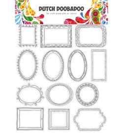 474.007.014 - DDBD Dutch buzz cut art Doodle frames