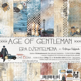 CC-ZM-AG-F16-Paper Collection Set 15,25x15,25 Age Of Gentleman