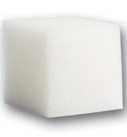 9300.061.00--quadratische weiche Schwämme-5pcs / 4 x 4 x 4cm