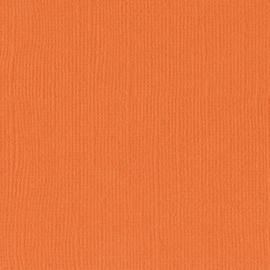 2928-013-Florence • Cardstock texture 30,5x30,5cm Mandarin