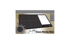 2633E-onic Studios - Tim Holtz Travel glass media mat (rechtshandig)