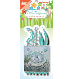 6002/1563 - Joy Crafts - Little Happiness - Lillies of the Valley