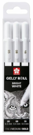 POXPGBWH3C-Sakura - Gelly Roll - Basic Bright White 05/08/10