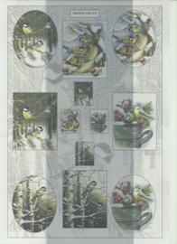 BOWOC 100-0009-KN vogels metalic knipvel