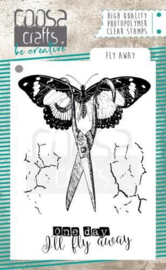 130630/2061-COOSA Crafts clearstamps A7 - Fly awaystamp COC-061