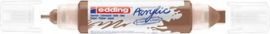 Edding-5400 Acrylic Marker hazelnoot 1 ST 2-3/5-10mm / 4-5400919