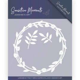 JAD10097 - Dies - Jeanine's Art - Sensitive Moments - Leaf Circle