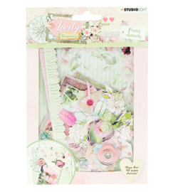 EASYLM653-Studio Light-Die Cut Paper Set Lovely Moments nr.653