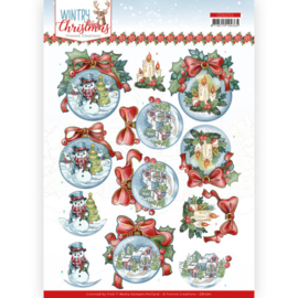 CD11711-Wintry Christmas - Christmas Baubles