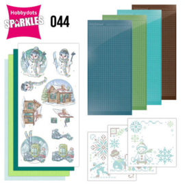SPDO044-Sparkles Set 44 - Yvonne Creations - Wintertime - Ski