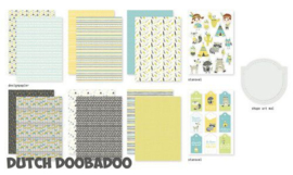 473.005.010-Dutch Doobadoo Crafty Kit A5 - Be Wild