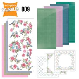 SPDO009-Sparkles Set 9 - Birds and Roses
