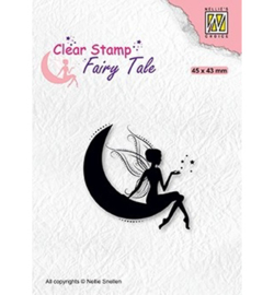 FTCS019 - Nellie Snellen Fairy Tale nr. 17 Elf on moon