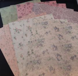 Viva Decor: achtergrondpapier met textielopdruk