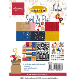 PK9173- Paper set - Sint & Pint