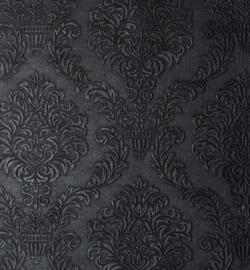 240092-07 - Black Vegan leer-Stafil