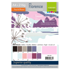 2927-304-Florence • Cardstock smooth A4 12x5 Winter (60 vel)