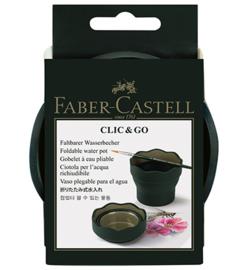 FC-181520-Faber Castell -Wasserbecher Grün