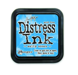 Ranger Distress Inks pad - salty ocean TIM35015 Tim Holtz
