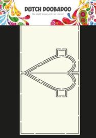 470.713.655 -Dutch Doobadoo Dutch Card Art hart Pop Up-A4
