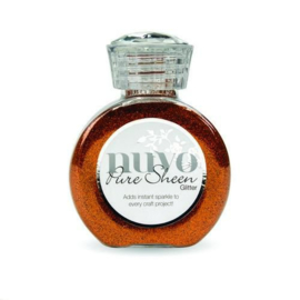 727N-Nuvo Pure sheen glitter - Spiced apricot