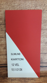 SLIMLINE 100-20085-SL CHRISTMAS RED