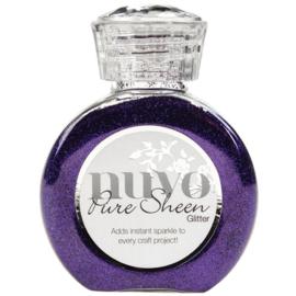 724N-Tonic Studios Nuvo Pure Sheen Glitter -100 ml-Purple Organza