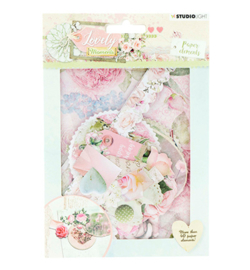 EASYLM654-Studio Light-Die Cut Paper Set Lovely Moments nr.654