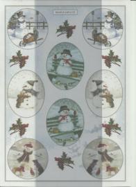 BOWOC 100-0023-KN sneeuwpop metalic knipvel