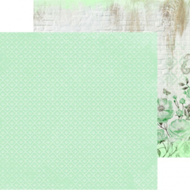 P2528-Kaisercraft paper 30,5x30,5cm Memory lane mint blush