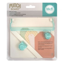 660248 - We R Memory Keepers tag punch board