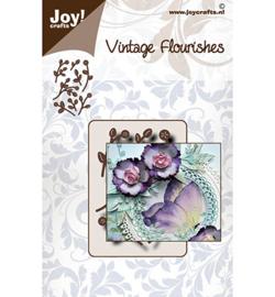 6002/0099 - Joy crafts - Vintage Flourishes takjes