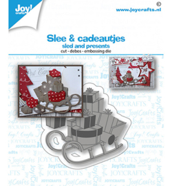 6002/1582 - Joy Crafts - Sled and presents