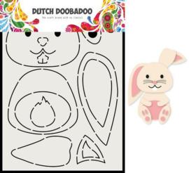 470.713.811-Dutch Doobadoo Card Art Built up Konijn