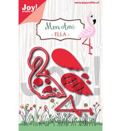 6002/1255 - Joy crafts - Mon Ami - Flamingo Ella