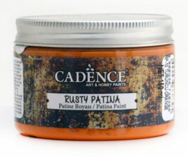 301272/0010 - Cadence rusty patina verf Oranje