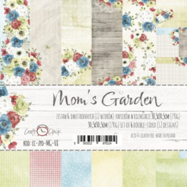 CC-ZPD-MG-08 - Craft O'Clock Mom's Garden