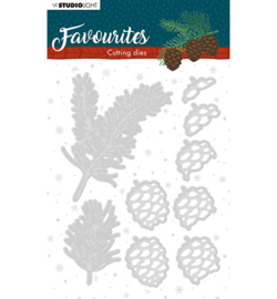 STENCILSL333 - Studio Light - Cutting Die - Winter's Favourites - nr.333