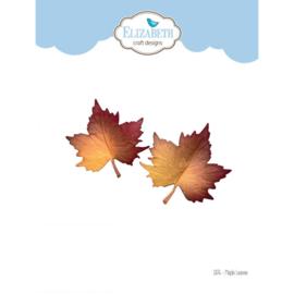 1876- Elizabeth Craft Designs- Maple Leaves