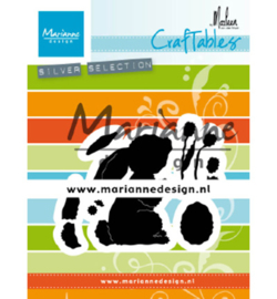 Marianne D Craftable Hase by Marleen CR1498 71x57mm