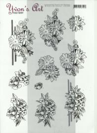 Condoliance knipvel YVON'S ART CD11547