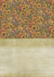 BGS10008-Backgroundsheets - Amy Design - Autumn Moments - Sunflowers