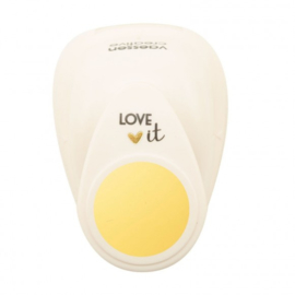21498-003 - Vaessen Creative • Love It Motivstanzer rund medium