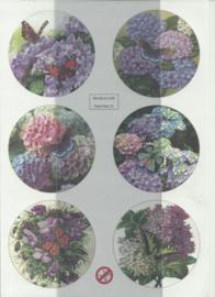 BOWOC 150-2221-UV bloemen met vlinders uitdrukvel