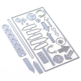 1804-Elizabeth Craft Designs - Planner Essentials 29 - Directions