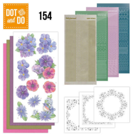 DODO154-Dot and Do 154 Pink Flowers